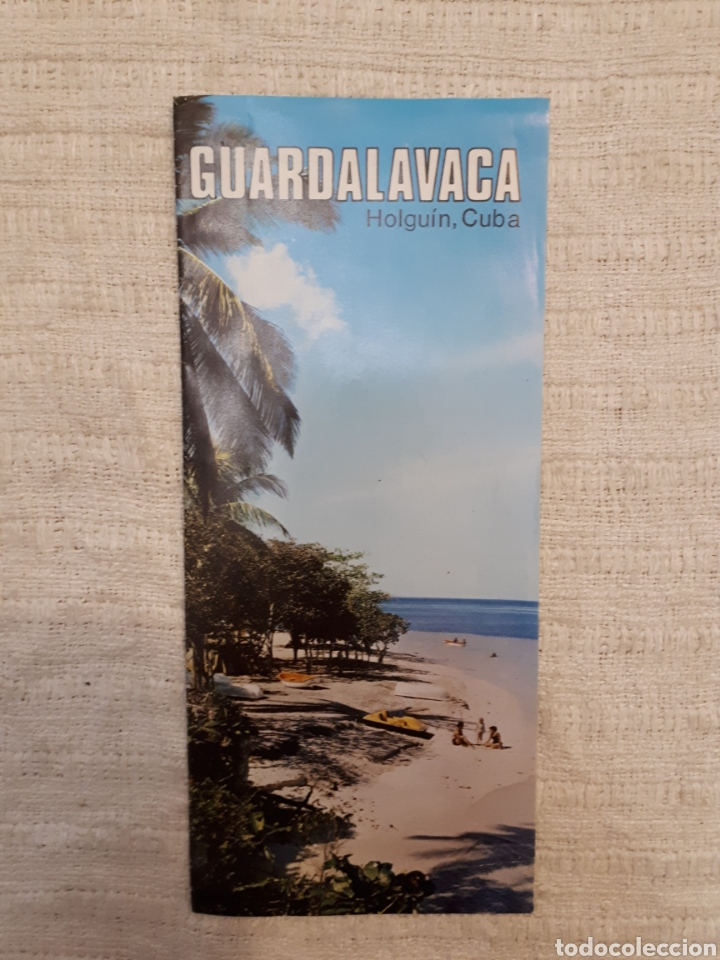 FOLLETO TURISMO GUARDALAVACA, CUBA (Coleccionismo - Folletos de Turismo)