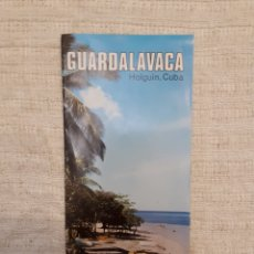Folletos de turismo: FOLLETO TURISMO GUARDALAVACA, CUBA. Lote 130281802