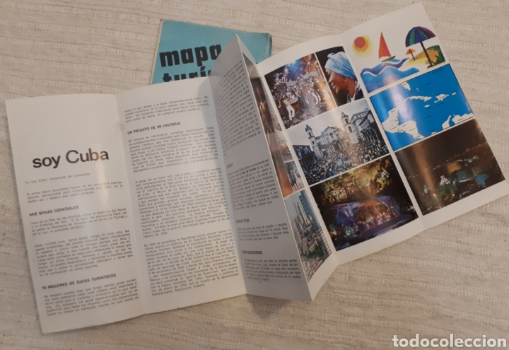 Folletos de turismo: Mapa turístico Cuba + folleto publicitario Soy Cuba - Foto 2 - 130282040