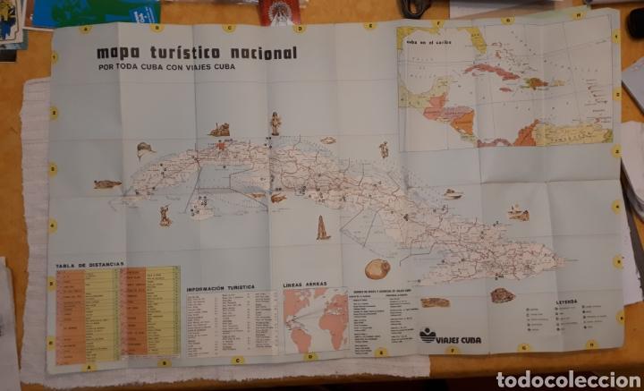 Folletos de turismo: Mapa turístico Cuba + folleto publicitario Soy Cuba - Foto 4 - 130282040