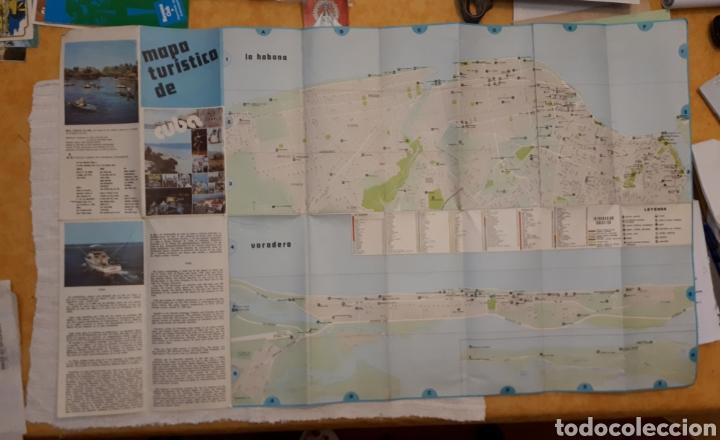 Folletos de turismo: Mapa turístico Cuba + folleto publicitario Soy Cuba - Foto 5 - 130282040