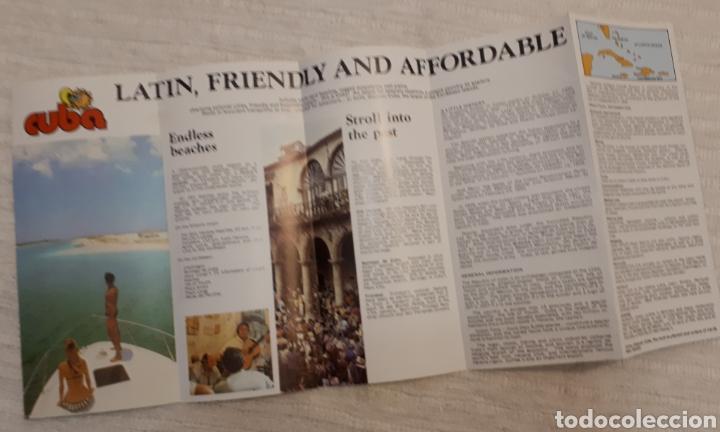 Folletos de turismo: Lote 3 folletos turísticos Cuba - Foto 4 - 130282256
