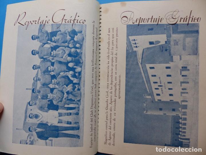 Folletos de turismo: UTIEL, VALENCIA - PROGRAMA FERIA Y FIESTAS - AÑO 1948 - Foto 10 - 130346190