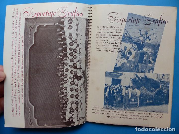 Folletos de turismo: UTIEL, VALENCIA - PROGRAMA FERIA Y FIESTAS - AÑO 1948 - Foto 11 - 130346190