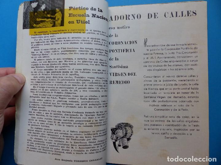 Folletos de turismo: UTIEL, VALENCIA - PROGRAMA FERIA Y FIESTAS - AÑO 1961 - Foto 5 - 130346630