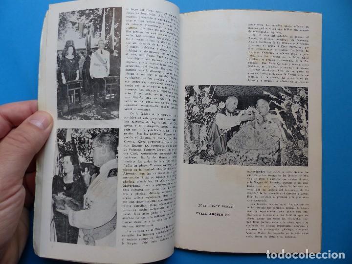 Folletos de turismo: UTIEL, VALENCIA - PROGRAMA FERIA Y FIESTAS - AÑO 1961 - Foto 8 - 130346630