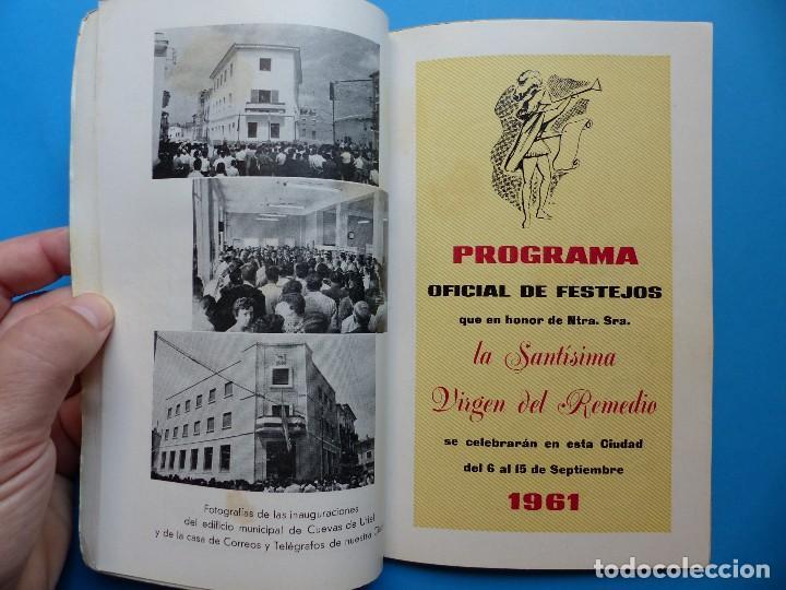 Folletos de turismo: UTIEL, VALENCIA - PROGRAMA FERIA Y FIESTAS - AÑO 1961 - Foto 10 - 130346630