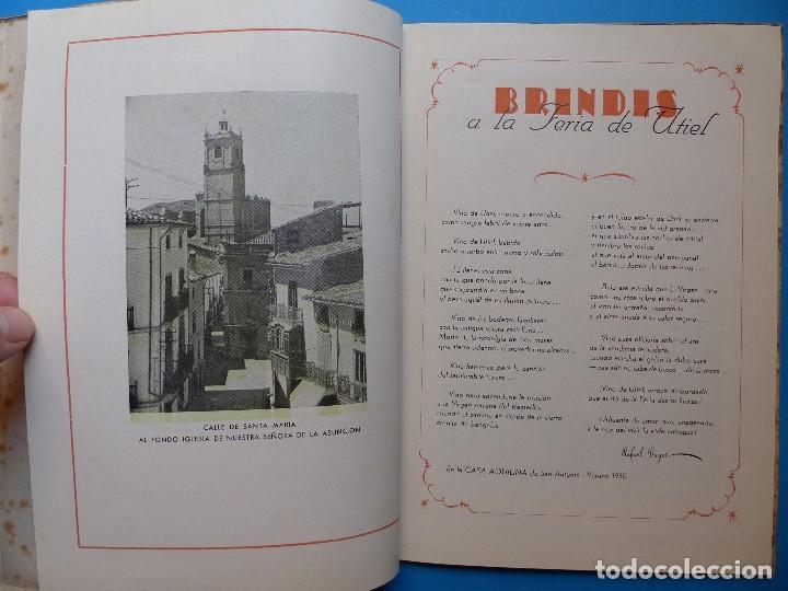 Folletos de turismo: UTIEL, VALENCIA - PROGRAMA FERIA Y FIESTAS - AÑO 1950 - Foto 6 - 130347198