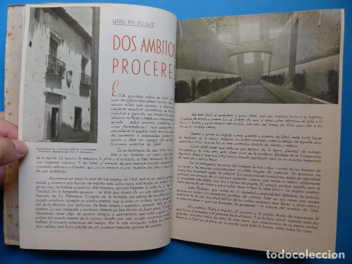 Folletos de turismo: UTIEL, VALENCIA - PROGRAMA FERIA Y FIESTAS - AÑO 1950 - Foto 9 - 130347198