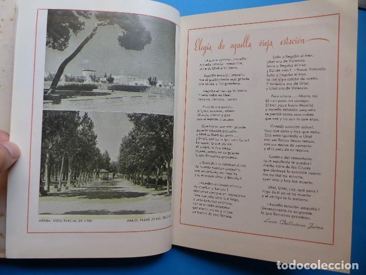 Folletos de turismo: UTIEL, VALENCIA - PROGRAMA FERIA Y FIESTAS - AÑO 1950 - Foto 10 - 130347198