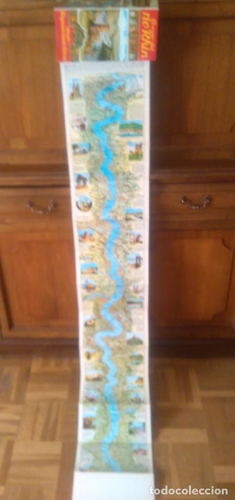 Folletos de turismo: Río RHIN con mapa desplegable - Foto 2 - 123207455