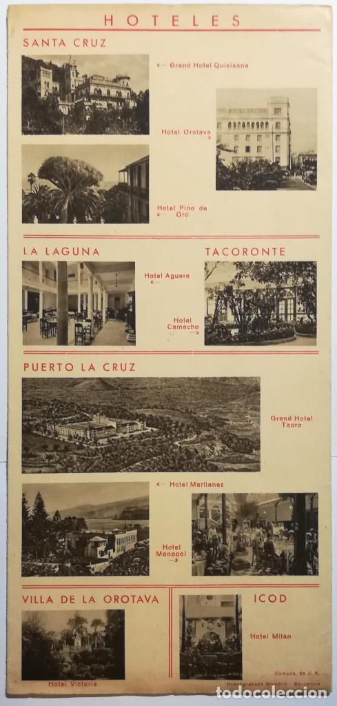 Folletos de turismo: ESPAÑA, ISLAS CANARIAS, TENERIFE. - Foto 2 - 130473314