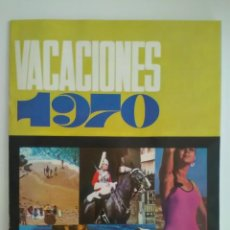 Folhetos de turismo: FOLLETO VACACIONES 1970 VIAJES ECUADOR. Lote 130742239