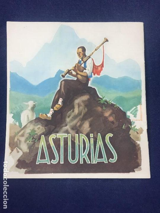 Folletos de turismo: ASTURIAS GUIA TURISTICA DIRECCION GENERAL DE TURISMO DIBUJOS DE MORELL HUECOGRABADO ARTE BILBAO - Foto 7 - 131579014
