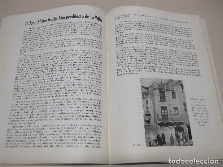 Folletos de turismo: Programa Fiesta Mayor Villa de Cardedeu 1958. - Foto 3 - 132466278