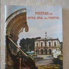 Folletos de turismo: FIESTAS DE NUESTRA SEÑORA DEL PORTAL. VILLAVICIOSA, 9, 10, 11, 12, 13 Y 14 DE SETIEMBRE DE 1988. 160. Lote 132707906