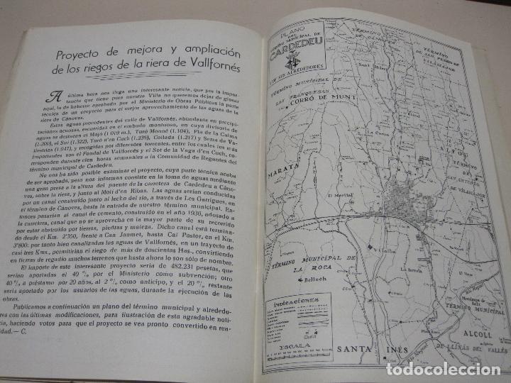 Folletos de turismo: Programa Fiesta Mayor. Villa de Cardedeu. 15-18 agosto de 1956 - Foto 3 - 132722846