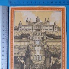 Foglietti di turismo: BARCELONA - FOLLETO TRIPTICO EXPOSICION INTERNACIONAL - AÑO 1929. Lote 132865390