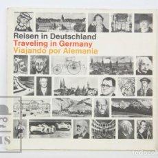 Folletos de turismo: GUÍA / LIBRO TURÍSTICO ESPAÑOL / INGLÉS / ALEMÁN - VIAJANDO POR ALEMANIA - DEUTSCHE LUFTHANSA, 1968. Lote 134360642
