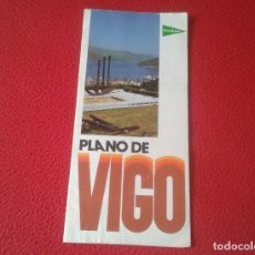Folletos de turismo: PLANO DE VIGO PONTEVEDRA GALICIA SPAIN ESPAGNE CON MAPAS EDITADO POR EL CORTE INGLES 1975 APROX. VER. Lote 135515006
