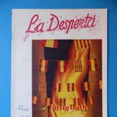 Folletos de turismo: VALENCIA, LA DESPERTÁ, AÑO 1948 - FALLAS DE SAN JOSE. Lote 135633695