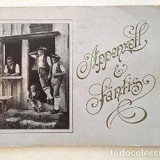 Folletos de turismo: ST GALLEN. APPENZELL & SÄNTIS (1910) ALBUM APAISADO CON 28 FOTOGRAFÍAS EN B/N. SUIZA. Lote 136016942