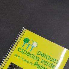 Folletos de turismo: FOLLETO TURISMO PARQUES ESPACIOS VERDES DE LA CIUDAD DE PALENCIA - TDKP4. Lote 136628570