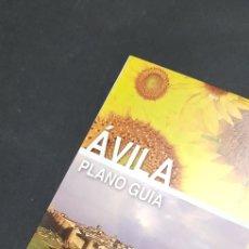 Folletos de turismo: FOLLETO DE TURISMO - AVILA - PLANO GUIA - TDKP4. Lote 136629478