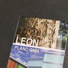 Folletos de turismo: FOLLETO DE TURISMO - LEON -PLANO GUIA - TDKP4. Lote 136639176