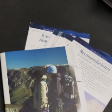 Folletos de turismo: FOLLETO TURISMO - SENDEROS DE GUARA - TDKP4. Lote 136640034