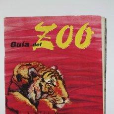Folletos de turismo: ANTIGUA GUIA - GUÍA DEL ZOO DE BARCELONA - PUBLICIDAD ALMACENES JORBA - EDIT. M. CAMPS-MASICH - 1959. Lote 136675158