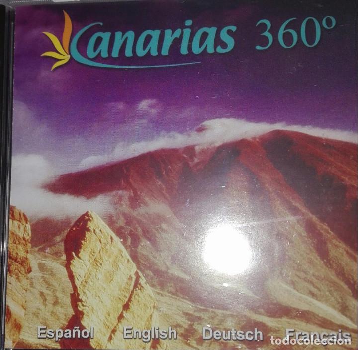 CANARIAS 360º (Coleccionismo - Folletos de Turismo)
