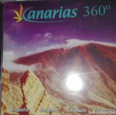 Folletos de turismo: CANARIAS 360º. Lote 138657210