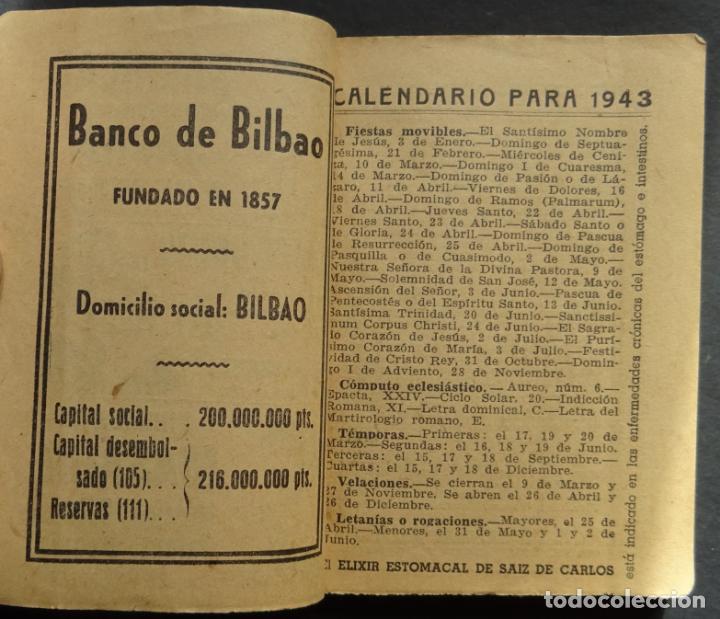 Folletos de turismo: Callejero y calendario de Madrid EL FIRMAMENTO del año 1943 - Foto 2 - 138793506