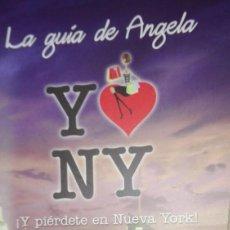 Folletos de turismo: YO AMO NUEVA YORK. Lote 139526010