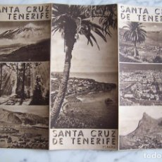 Folletos de turismo: FOLLETO DE TURISMO SANTA CRUZ DE TENERIFE.. Lote 140155930