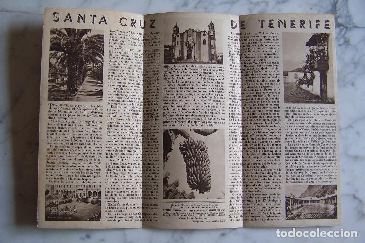 Folletos de turismo: FOLLETO DE TURISMO SANTA CRUZ DE TENERIFE. - Foto 2 - 140155930