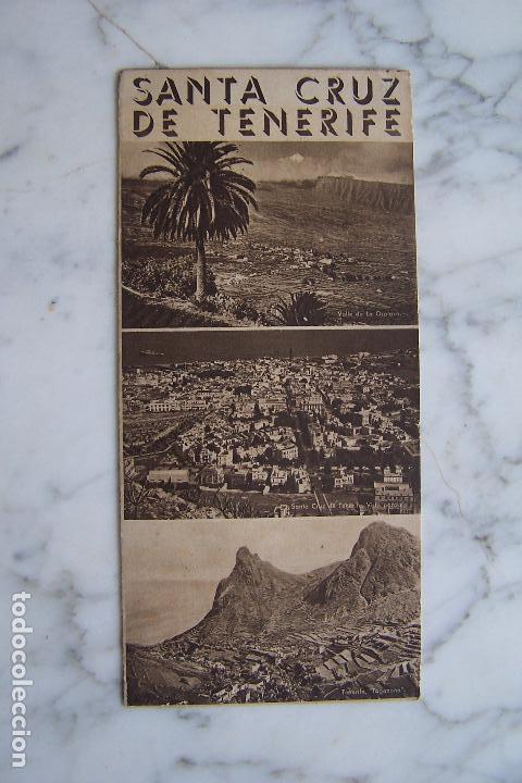 Folletos de turismo: FOLLETO DE TURISMO SANTA CRUZ DE TENERIFE. - Foto 3 - 140155930