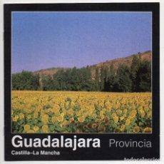 Folletos de turismo: GUADALAJARA PROVINCIA CASTILLA LA MANCHA. Lote 140627198