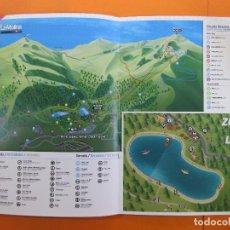 Folletos de turismo: FERROCARRILES GENERALITAT LA MOLINA FOLLETO ESTIU 2018 VARIAS PAGINAS. Lote 140889382