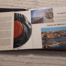 Folletos de turismo: TARRAGONA POR EL SONIDO, LA IMAGEN Y EL COLOR.. Lote 141778046