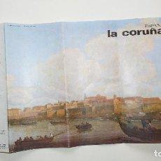 Folletos de turismo: FOLLETO INFORMATIVO LA CORUÑA - FOURNIER. Lote 142291782