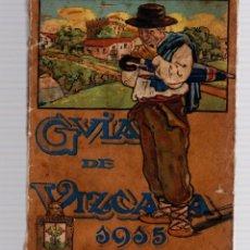 Folletos de turismo: GUIA DE VIZCAYA 1915. SINDICATO DE FOMENTO.. Lote 143157232
