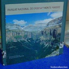 Folletos de turismo: PARQUE NACIONAL DE ORDESA Y MONTE PERDIDO. Lote 143404618