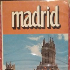 Folletos de turismo: MAPA GUIA TURÍSTICA MADRID. Lote 143640348