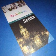 Folletos de turismo: SEVILLA (ANDALUCÍA) - GUÍA PRÁCTICA CIUDAD PLANO. Lote 143653850