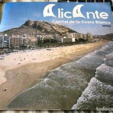 Folletos de turismo: FOLLETO TURÍSTICO DE ALICANTE. 40 PÁGINAS. AÑO 1983. EN INGLÉS. INCLUYE MAPA DESPLEGABLE. NUEVO.. Lote 143693466