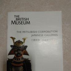 Folletos de turismo: GUÍA GALERÍAS ARTE JAPONÉS MUSEO BRITÁNICO 2009. Lote 144671882