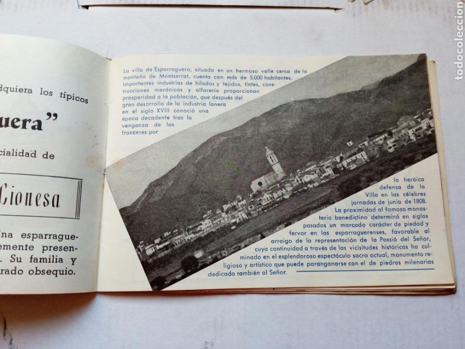 Folletos de turismo: Guia del visitante de la passio d esparraguera.año 1961.catalunya.barcelona.turismo.semana santa.rel - Foto 2 - 144929232
