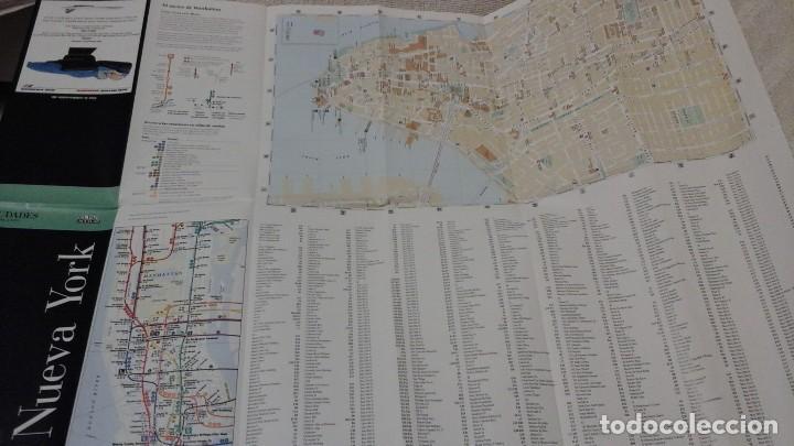 Folletos de turismo: Guía de nueva york. Mapa. Plano. Callejero. Acm - Foto 3 - 145017290